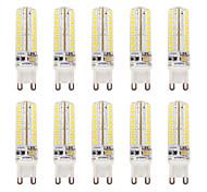 3.5 G9 2-pins LED-lampen T 64 SMD 2835 320-340 lm Warm wit / Koel wit Waterbestendig / Dimbaar V 10 stuks