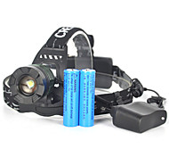 Rechargeble 5000LM XML T6 LED Zoomable Headlamp 18650 Headlight Flashlight Torch