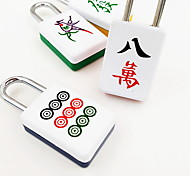 Travel Luggage Lock / Coded Lock Luggage Accessory Alloy Color Random