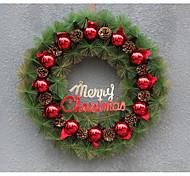 Natale di plastica corona / decorazione di simulazione