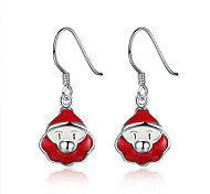 Santa Claus Drop Earring