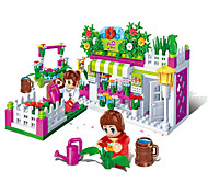 Playhouse / Dollhouse For Gift  Building Blocks Model & Building Toy Furniture / House / Architecture ABS5 to 7 Years / 8 to 13 Years /