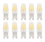 3W G9 Luces LED de Doble Pin G95 COB 230-250 lm Blanco Cálido / Blanco Fresco Impermeable V 10 piezas