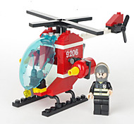 Action Figures & Stuffed Animals / Building Blocks For Gift  Building Blocks Model & Building Toy Helicopter ABS5 to 7 Years / 8 to 13