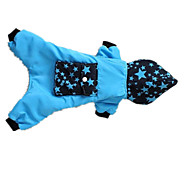 Dog Sweater Blue / Rose Dog Clothes Winter / Spring/Fall Stars Keep Warm