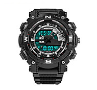 SANDA Men's Smart Watch Sport Military Style Waterproof Sport Japanese Quartz Watches Shock  Relogio Digital Watch
