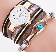 Relojes Mujer 2016 Fashion Women Watches Bracelet Leather Watch Strap Weaving Dress Digital Watch Clock Wrist Watches Relogio