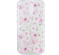 For Motorola Moto G4 Plus Case Cover Roses Flower Pattern Back Cover Soft TPU G4