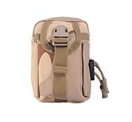 0.5 L Bag Cell Phone / zaino Campeggio e hiking / Tempo libero / Viaggi All'aperto / Tempo libero Telefono/Iphone altro / Mimetito Nylon