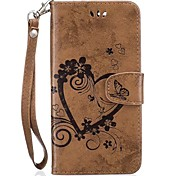 Full Body Heart Embossed Leather Wallet for Google Pixel XL Pixel