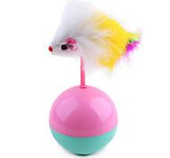 Cat Pet Toys Ball / Teaser Mouse / Tumbler Random Color Plush