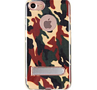 For IPhone 7Plus 7 6Plus 6 New Phone Case Army Camo Camouflage  Rear Cover Hybrid PlasticTPU Case