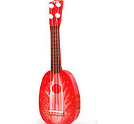 клубники ребенок мультфильм фрукты гитара / пластик / на открытом воздухе игрушки музыка игрушки /