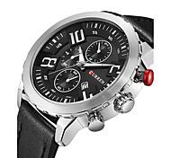 Мужской Спортивные часы Армейские часы Нарядные часы Модные часы Наручные часы Часы-браслет Повседневные часы Японский КварцевыйКалендарь