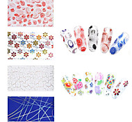 20pcs Nail Art Sticker Adesivi 3D unghie makeup Cosmetic Nail Art Design