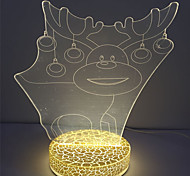 Holiday Best Gift Hot Selling 3D Effect with Usb Kids Acrylic Night Light