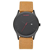 CAGARNY Men Watch /Fashion Watch /Large Dial Watch /Japan Quartz Calendar / Cool  /Casual Watch/Business Simple