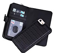 Назначение iPhone X iPhone 8 iPhone 7 iPhone 6 Кейс для iPhone 5 Чехлы панели Кошелек Бумажник для карт Чехол Кейс для Сплошной цвет