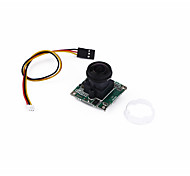 FPV Fish-eye Camera CCTV HD Wide-angle Sensor 360-degree 5MP Camera PAL/General RC Camera/Video Drones Black 1 Piece