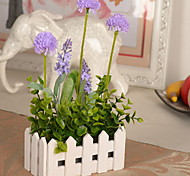 1 1 Branch Plastic / Others Hydrangeas / Others / Lavender / Plants Tabletop Flower Artificial Flowers