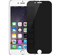 ZXD 0.3mm 2.5D 9H Anti Peeping Privacy Screen Protective Film for iPhone 7 With Retail Package