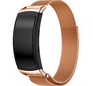магнитная застежка из нержавеющей стали сетка милански замена петли ремешок для галактики Samsung Gear fit2 SM-R360