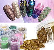 10g/box Nail Art Decoration Rhinestone Pearls Makeup Cosmetic Nail Art Design