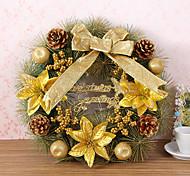 decorazione corona di Natale