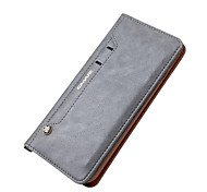 For iPhone 7 Plus 7 Card Holder Wallet with Stand Case Full Body Case Solid Color Hard Genuine Leather