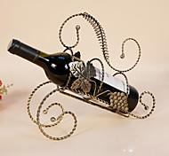 Винные стеллажи Чугун,29*9.5*26CM Вино Аксессуары