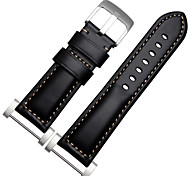 Genuine Leather Replacement Watch Band for Suunto Core Traverse Essential series watches Colorful Wrist Strap with Adapter