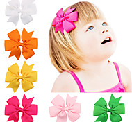 20 Colors/set Hair Bow Clips Baby Girls Hair Accessories