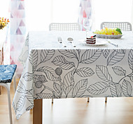 Foliage Table Cloth Tablecloth Table Coffee Table Fabric Round Tablecloth