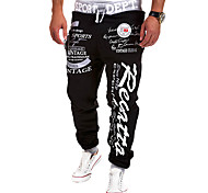 Running Pants/Trousers/Overtrousers / Bottoms Men's Breathable / Quick Dry Nylon Exercise & Fitness / Leisure Sports / Running Sports