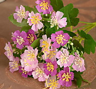 1 1 Branch Plastic / Others Others / Violet / Plants Tabletop Flower Artificial Flowers