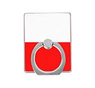 poland flag pattern пластиковый держатель кольца / 360 вращающийся для мобильного телефона iphone 8 7 samsung galaxy s8 s7