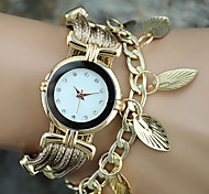 Fashion Women Watches Bracelet Watch Ladies Watch Leaf Clock Gold Watch Wrist Watches Relogio Feminino