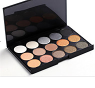 15 Eyeshadow Palette Dry Eyeshadow palette Pressed powder Daily Makeup