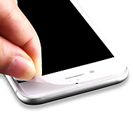 ZXD 3d copertura completa per iPhone 7 curvo bordo morbido in fibra di carbonio della pellicola di schermo di protezione in vetro