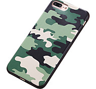 For Apple iPhone 7 7Plus 6S 6Plus Case Cover The New Camouflage Backplane Phone Case