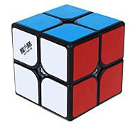 Qiyi® Cubo velocidad suave 2*2*2 Cubos Mágicos / Juguete Educativo Arco iris / Negro / Blanco Etiqueta suave GuerreroAnti-pop / muelle