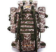 80 L Backpack / Hiking & Backpacking Pack / Laptop Pack / Cycling BackpackCamping & Hiking / Climbing / Leisure Sports / School /