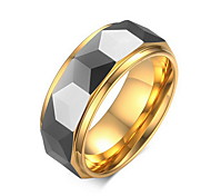 Men's Statement Rings Jewelry Tungsten Steel Jewelry For Daily Casual