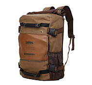 KAUKKO 18L Fashionable Backpack with Laptop Layer - KHAKI
