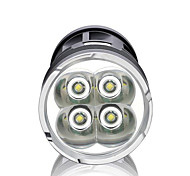 Luci Torce LED LED 3000 Lumens 3 Modo LED 18650 Dimmerabile / Impermeabili / Ultraleggero / Alta intensità