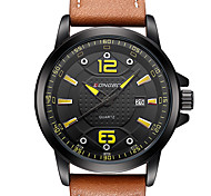 Men's Sport Watch Military Watch Dress Watch Fashion Watch Wrist watch Calendar Water Resistant / Water Proof Quartz Japanese Quartz