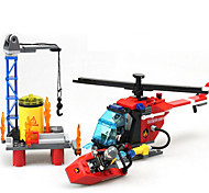Action Figures & Stuffed Animals / Building Blocks For Gift  Building Blocks Model & Building Toy Machine / Ship / Helicopter ABS5 to 7
