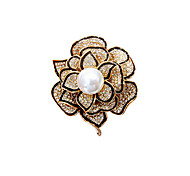 Women's Brooches 18K gold Fashion Gold Jewelry Party Daily
