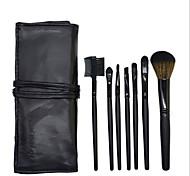 Mina Qi 7 Pens Make-Up Brush Brush Set Import Synthetic Hair Makeup Brush Set Random Colors