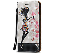 For Samsung Galaxy A3 A5(2016)Case Cover 3D Sexy beauty  Hard PU Leather for A3 A5